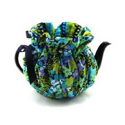 Wrapping Tea Cozy (2-cup) – Midnight Meadow