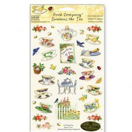Garden Tea Stickers