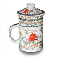 Infuser Tea Mug – Peony