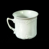 Decorative White Porcelain Tea Cup