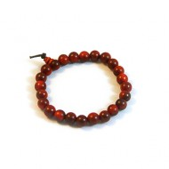 Dragon Blood Wood Prayer Beads