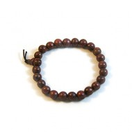 Purpleheart Wood Prayer Bracelet