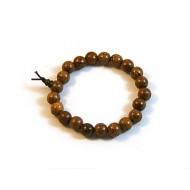 Phoenix Tail Wood Prayer Bracelet