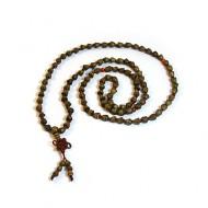 Eucalyptus Seed Prayer Necklace