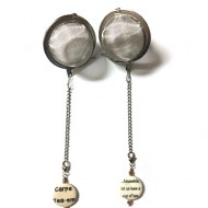 Tea Ball Infuser with Charm