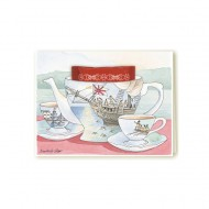 Greeting Card – Boston Tea Party
