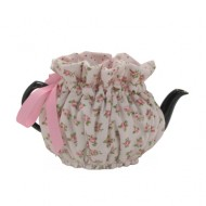 Wrapping Tea Cozy (2-cup) – Baby Pink Roses