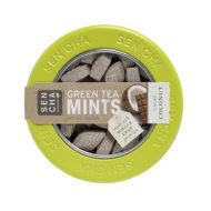 Cacao Coconut Green Tea Mints (1.2 oz canister)