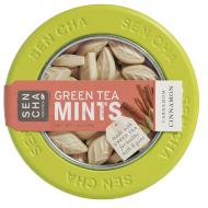 Cinnamon Cardamom Green Tea Mints (1.2 oz canister)