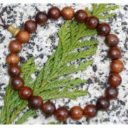 Black Pear Wood Bracelet