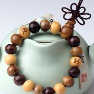 Three Treasure Wrist Mala